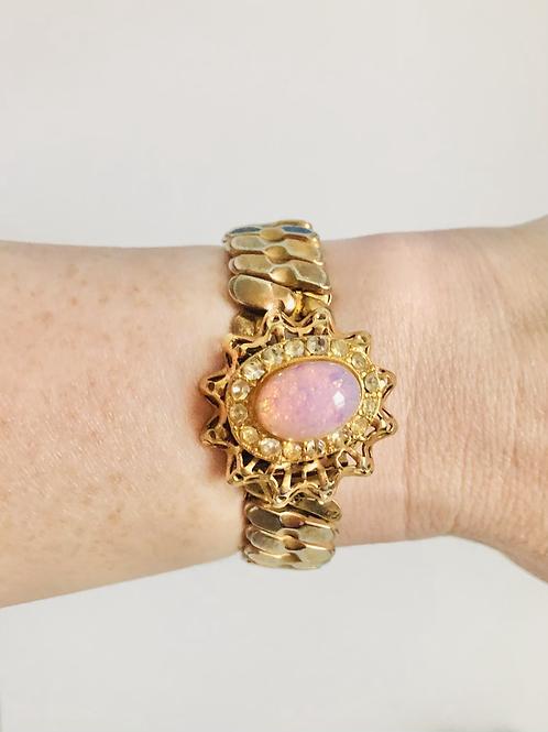 Vintage Foil Opal Sweetheart Expansion Bracelet