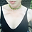 Thumbnail: Vintage Green and Yellow Woven Rhinestone Choker