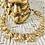 Thumbnail: Vintage Lisner Goldplated Sunflower Choker Necklace