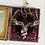 Thumbnail: Vintage Interlocking Blue Rhinestone and Pearl Necklace