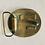 "Thumbnail: Vintage ""Passing Gas"" Beardsley 1970s Rare Brass Buckle"