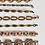 Thumbnail: Vintage Copper Bracelets Choose Your Letter