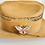Thumbnail: Foil Opal and Pink Enamel Butterfly Brooch