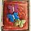 Thumbnail: Purple, Blue, Green Vintage Butterfly Broach Pin