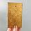 Thumbnail: Art Deco Design Brass Cigarette Case