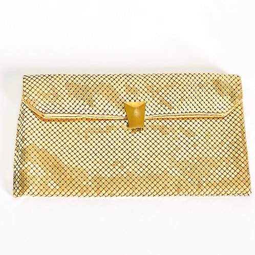 Vintage Mesh Whiting and Davis Clutch Purse