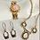 Thumbnail: Vintage Foil Opal Sweetheart Expansion Bracelet