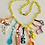 Thumbnail: Super Fun Yellow 1980s Charm Necklace