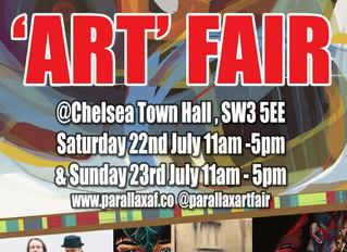 "Esposizione a Londra al ""Parallax Art Fair"""