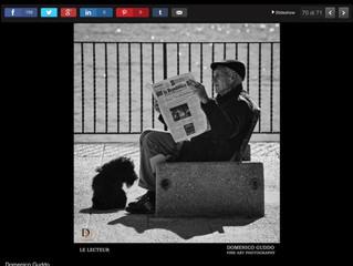 """""""Le Lecteur"""" sul giornale La Repubblica"""