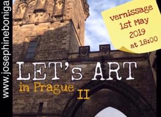 """Let's Art in Prague""."
