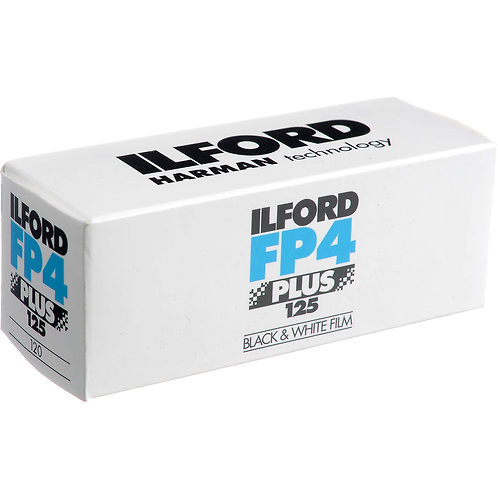 ILFORD FP4 Plus Film - ISO 125 Black and White Film 120mm