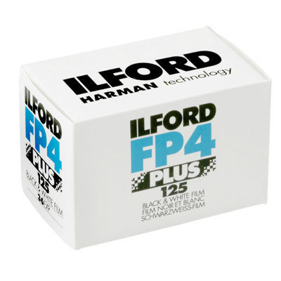 ILFORD FP4 Plus Film - ISO 125 36Exp Black and White Film