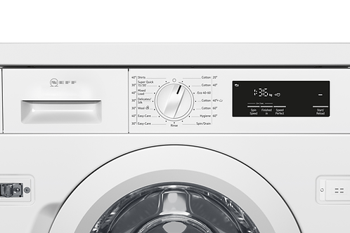 BUILT-IN WASHING MACHINE, 8 KG, 1400 RPM