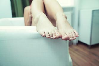 טיפ לפינוק והזנת כפות הרגליים