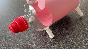 PlasticFreeJuly: Piggy Bank