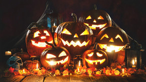 Why pumpkins at Hallowe'en
