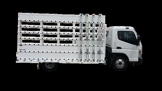 Glass Truck Rack