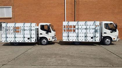 Transport Glass Truck