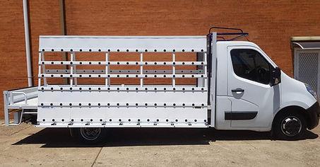 Glass Truck Racks
