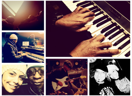 First days recording with soul funk secret for the album