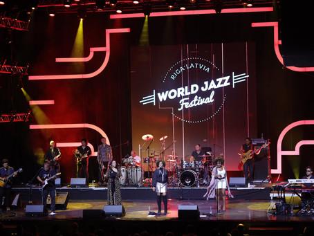 Latvia ( World Jazz festival ) 40th Anniversary tour Incognito