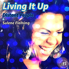 living it up artwork Distant People and