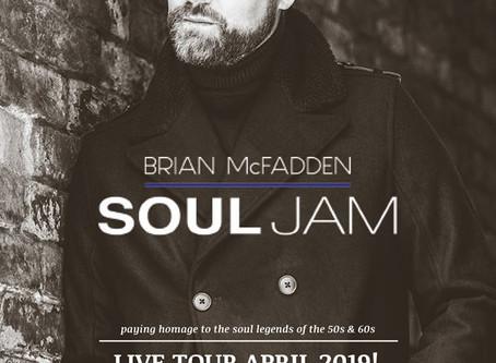 Brian McFadden April Tour