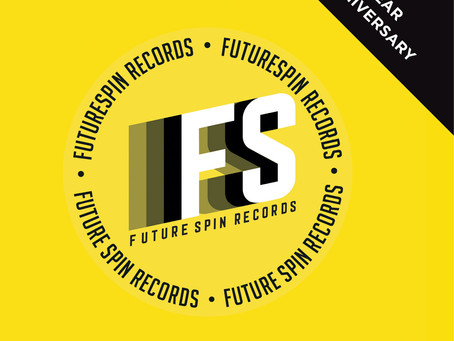 "Future Spin Records ""1st year anniversary"" Now available at Discogs"
