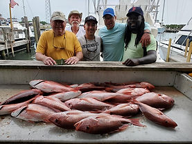 Red Snapper Fishing South Padre Island, TX