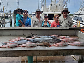 family fishing trips south padre island, TX