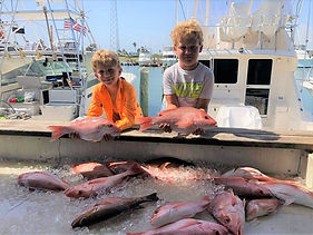 kids fishing south padre island, tx