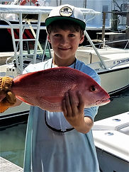Kid friendly red snapper fishing