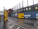 Cruise ship Tours Belfast Peace Wall,,.j