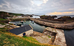 Cruise ship Tours Belfast Ballintoy Harb