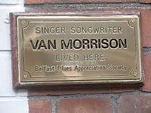Cruise ship Tours Belfast Van Morrison B