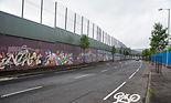 Cruise ship Tours Belfast Peace Wall,.jp
