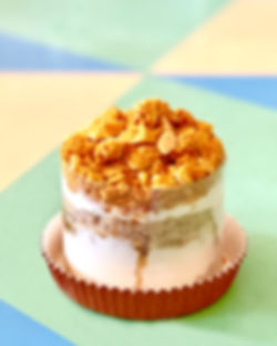 John and Yoko Cake Super Chunk Original Honeycomb Dessert