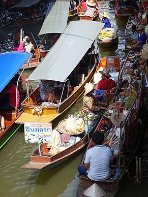 กิน เที่ยว จบ ครบที่ ตลาดน้ำดำเนิน ราชบุรี