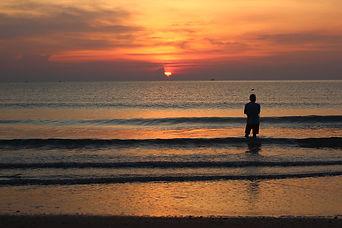 sunset at Huahin