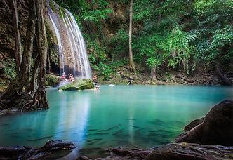 Kanchanaburi waterfall
