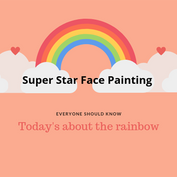 its about the rainbow