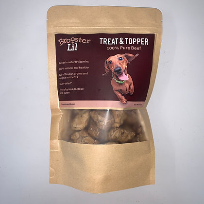 Brooster and Lil - Beef Treat and Topper