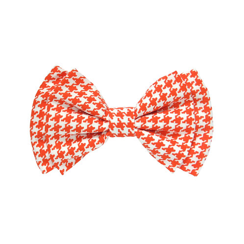 Orange Houndstooth: L