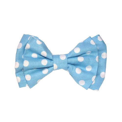 Baby Blue Polka Dots: L