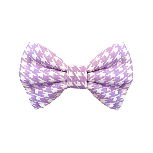 Lilac Houndstooth: L