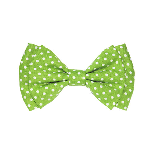 Lime Green Polka Dots: S