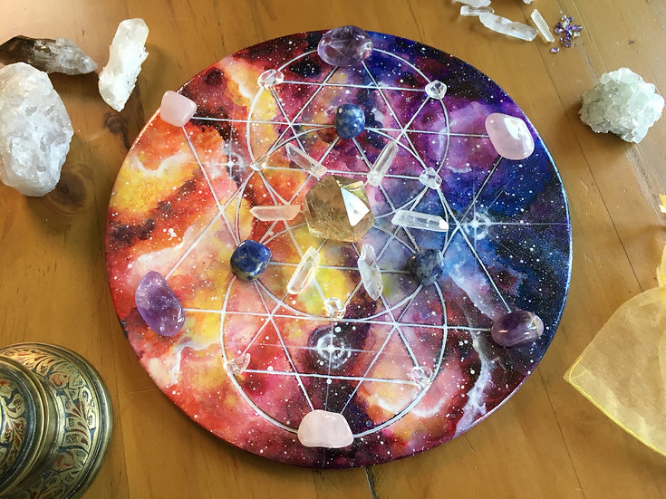 Constitution Of Man crystal grid