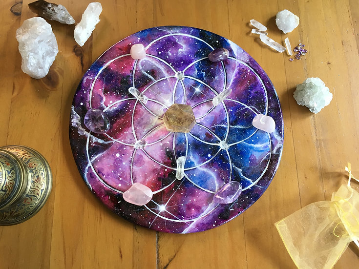 Seed Of Life crystal grid