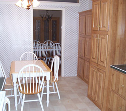 Kitchen and Separate Dining
